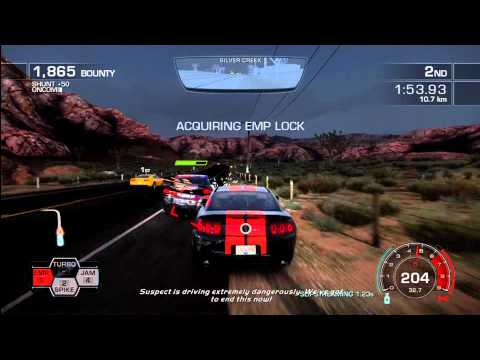 Need for speed hot pursuit racers shock and awe hot pursuit