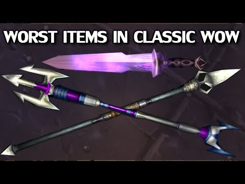 The Worst Items of Classic WoW - Azeroth Arsenal Episode 13