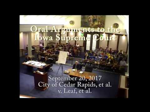 Image of 16–0435 City of Cedar Rapids v. Marla Marie Leaf