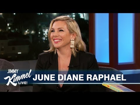 June Diane Raphael on Disney & Women Running for Office