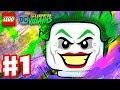 Lego Dc Super Villains  Gameplay Walkthrough Part 1  New Kid On The Block Character Creator Intro