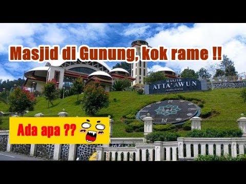 Trip ke Masjid Atta'Awun Puncak Bogor Jawa Barat