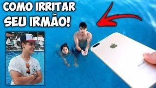 Video COMO IRRITAR SEU IRMÃO NO RESORT! #3 ‹Irmãos Berti› MP3, 3GP, MP4, WEBM, AVI, FLV Juli 2018