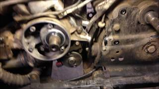 7. How to Replace Install Polaris 2 Stroke Starter - Starting Motor Replacement 250 300 350 400