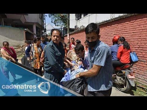 Nuevo temblor en Nepal deja más de 40 muertos