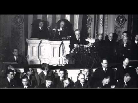 Franklin D Roosevelt - Dec. 8, 1941