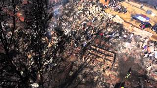 This Drone Dootage Showing The Aftermath Of A Fire Is So Heartbreaking