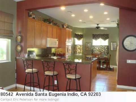 Indio, Ca Real Estate For Sale - 80542 Avenida Santa Eugenia
