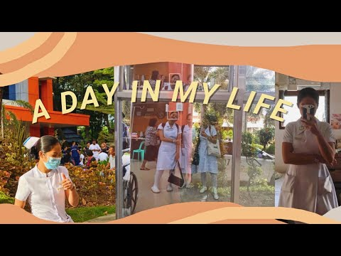 A Day In My Life - Hospital Ward Duty | #RoadtoRN Vlog (Philippines)