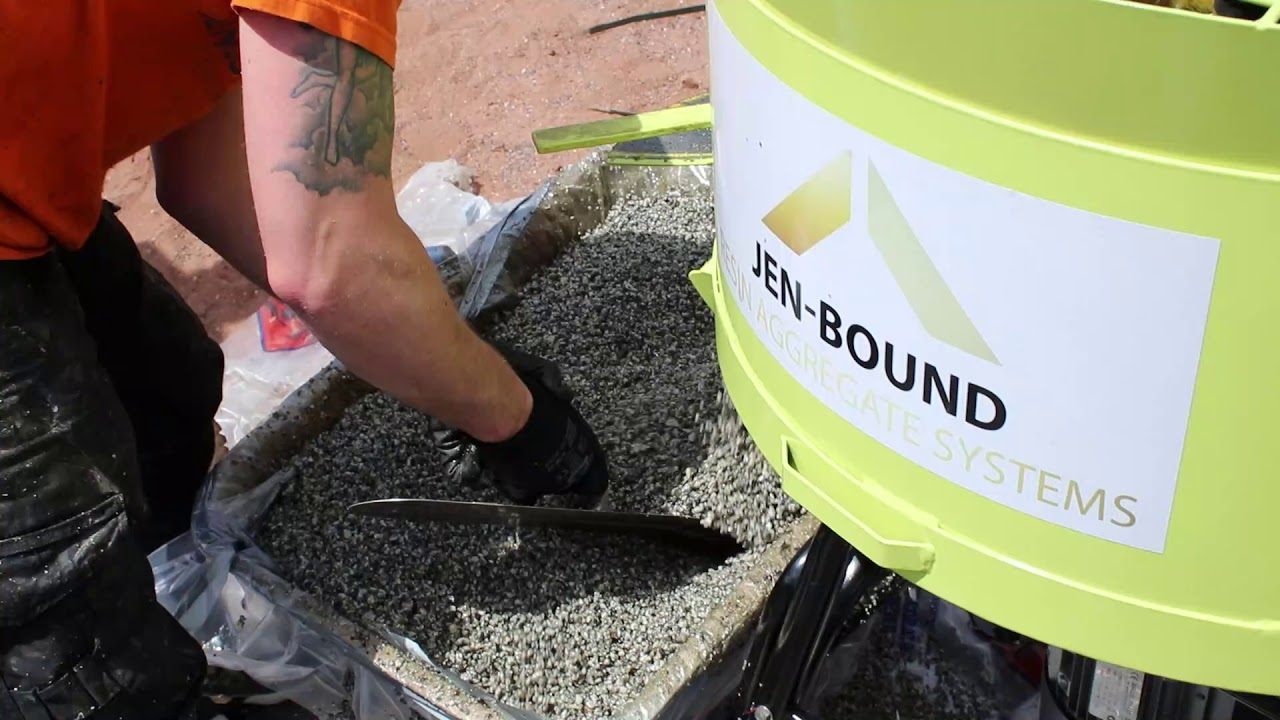 Resin Bound Installation (Resin Bound Training Courses Available)