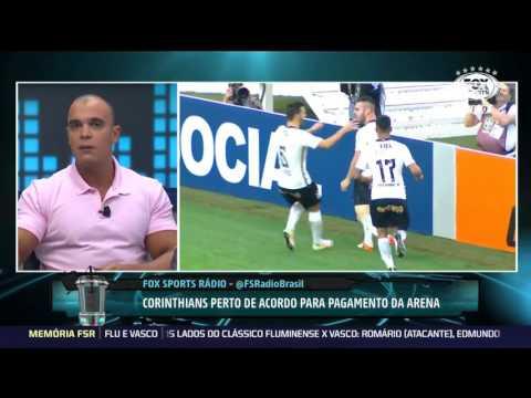 Fox Sports Radio   CORINTHIANS Pipoca em Pênaltis?Acordo Pra Pagar Arena Está Próximo(21/04/2017)