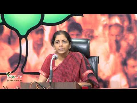 Congress today seems to want ever debate outside rather than in Parliament: Smt Nirmala Sitharaman