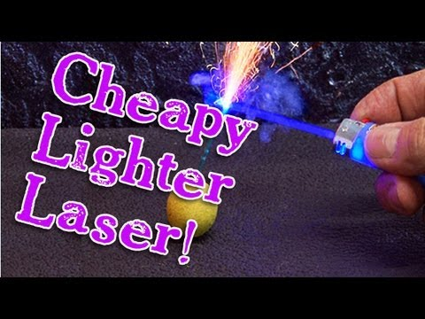 Cheap laser lighter