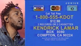 Kendrick Lamar Sings The Hits Infomercial: Covers Of Drake, Rihanna, Taylor Swift, Ciara