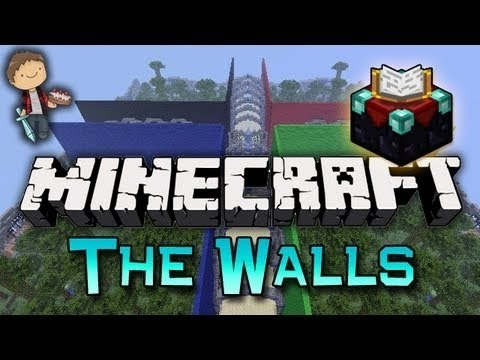 Minecraft: The Walls Mini-Game PVP CHALLENGE With The Pack! (TNT TRAP!)