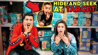 Video Hide And Seek At The Biggest Target! **WE LOST FERRAN** | The Royalty Family MP3, 3GP, MP4, WEBM, AVI, FLV Januari 2019