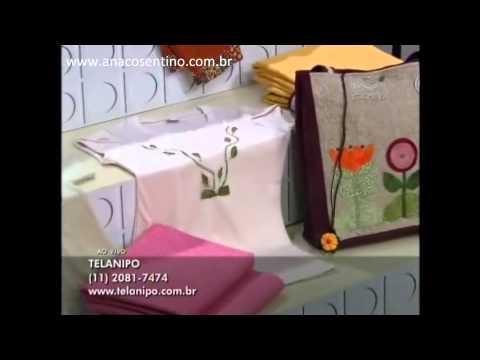 Dica Ana Cosentino: Customização de Camisetas (Ateliê na TV)