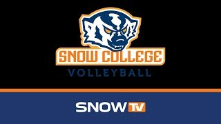 Snow College Volleyball vs. College of Southern Idaho 10-18-2018