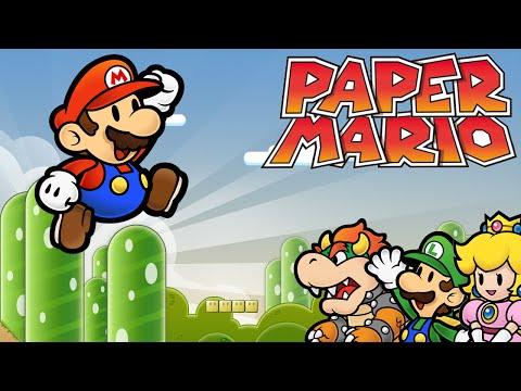 Nintendo 64 Hardware Walkthrough Paper Mario 38 Into Flower