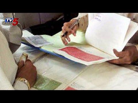 Corruption C/O Rajahmundry Registrar Office : TV5 News