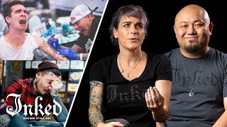Video 25 Tattoo Artists Explain What Not to Say to Tattoo Artists | INKED Talk MP3, 3GP, MP4, WEBM, AVI, FLV September 2018