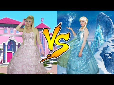 BARBIE VS FROZEN