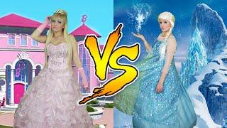 Download Lagu BARBIE VS FROZEN Mp3