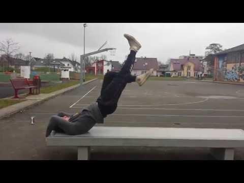 超上級者向けトレーニング【ドラゴンフラッグウォーク】