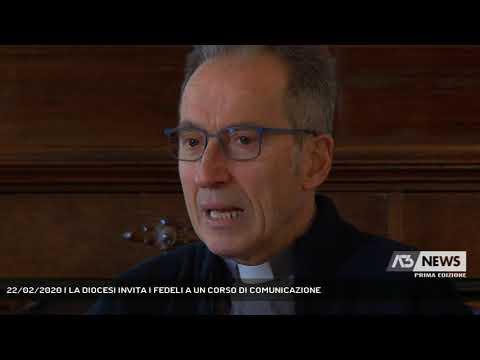 22/02/2020   LA DIOCESI INVITA I FEDELI A UN CORSO DI COMUNICAZIONE