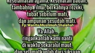 Download Lagu Kupulan Kata Kata  Mutiara Doa Dari Fp:Wanita Muslimah Shalehah Mp3