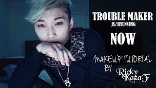 Trouble Maker - JS [NOW] Makeup Tutorial - RickyKAZAF
