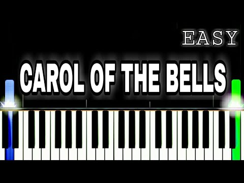 Carol Of The Bells | Easy Piano Tutorial By PIANO NOTES | Synthesia