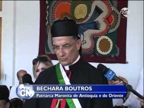 CN Notícias: Patriarca Maronita recebe homenagem em Curitiba - 30/04/13