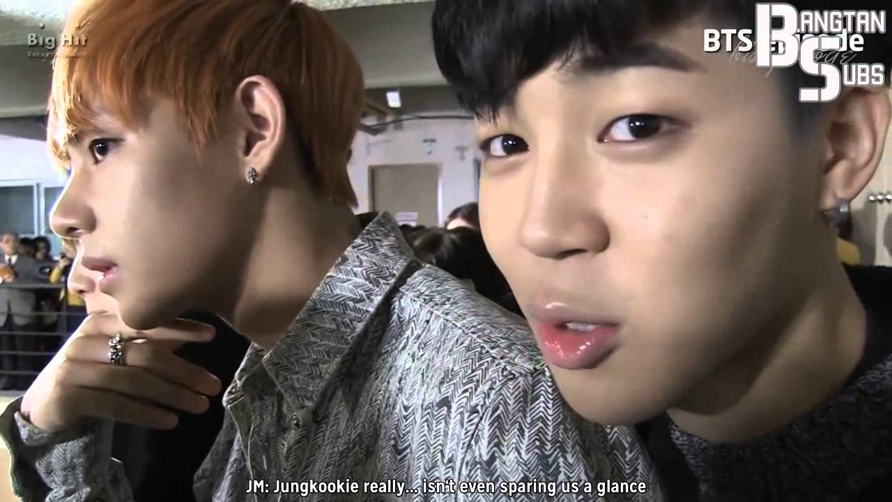 [engsub] 140304 Jungkook Went to HS with BTS