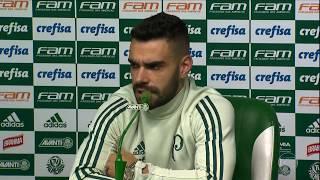 Palmeiras tenta esquecer eliminação na Copa do Brasil para deslanchar no Brasileirão - Globo Esporte - 28/07/2017.