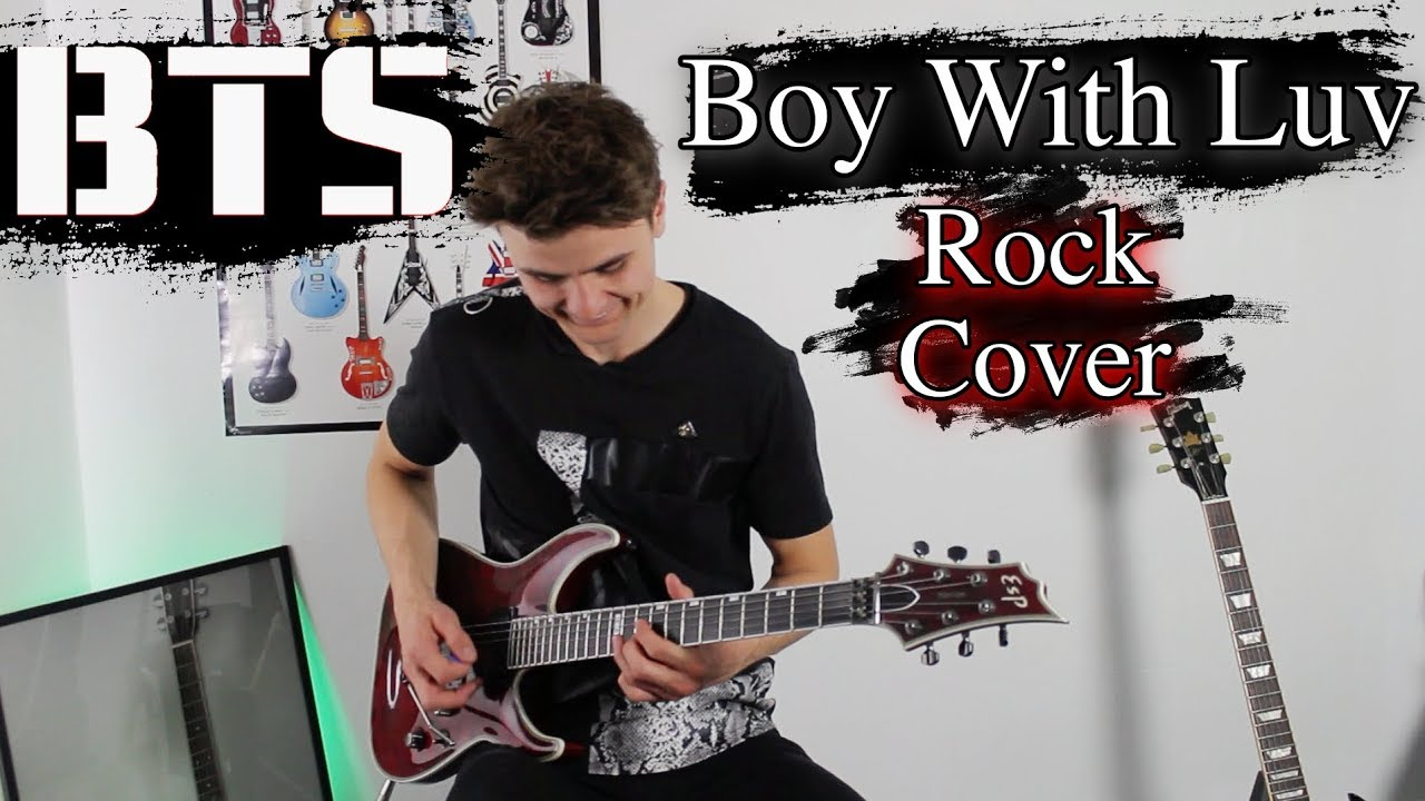 BTS – Boy With Luv (ft. Halsey) – Rock Cover | Electric Guitar