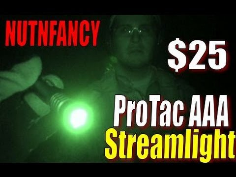 Streamlight - Totally worth the $25 you'll spend, the Streamlight ProTac AAA is a big upgrade from the well-proven Stylus Pro light. At 80 lumens it's much brighter. Also ...