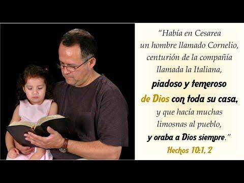 Cornelio un Pagano que era temeros de Dios ayunaba,oraba y daba buenas ofrendas