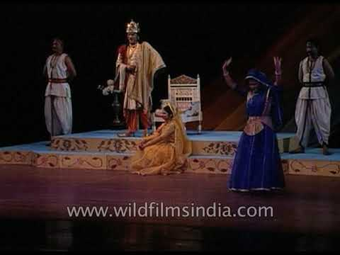 National School Of Drama Presents Indra Sabha