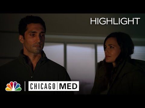 Manning Asks Crockett a Personal Question - Chicago Med