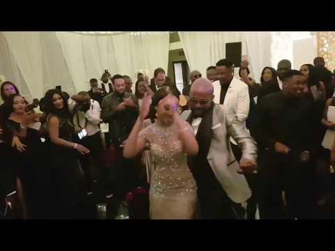 BankyW & Adesua WEDDING DANCE IN SOUTH AFRICA | BAAD2017
