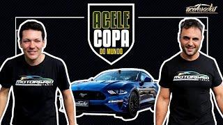 ROUND 2 DA ACELECOPA! RENNE GTR E LEONE DO MOTORGRID BRASIL DUELAM NO MUSTANG - ACELECOPA #2