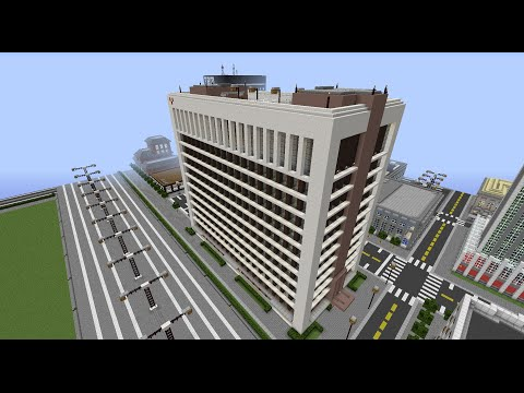 Modern Office Block Minecraft Project