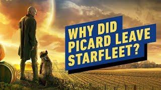 Patrick Stewart: Why Did Picard Leave Starfleet? by IGN