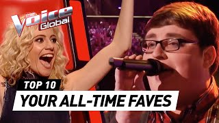 Video YOUR ALL-TIME FAVORITES in The Voice and The Voice Kids MP3, 3GP, MP4, WEBM, AVI, FLV Januari 2019