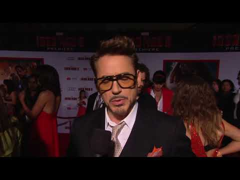 Robert Downey Jr - Premiere Robert Downey Jr (Anglais)