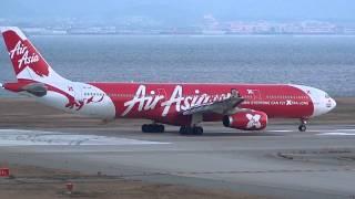 Video AirAsia X Airbus A330-300 9M-XXB Takeoff - Kansai International Airport【KIX/RJBB】 - MP3, 3GP, MP4, WEBM, AVI, FLV Juli 2018