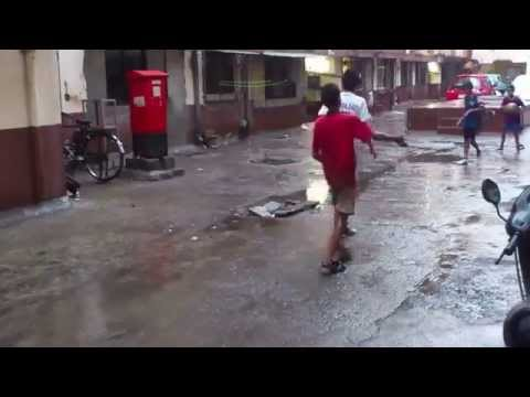 Monsoon Rains and Gulli Football