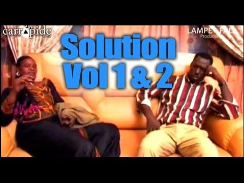 Solution - Vol 1 & 2 - INTEGRALE - Théâtre Sénégalais (Comedie)