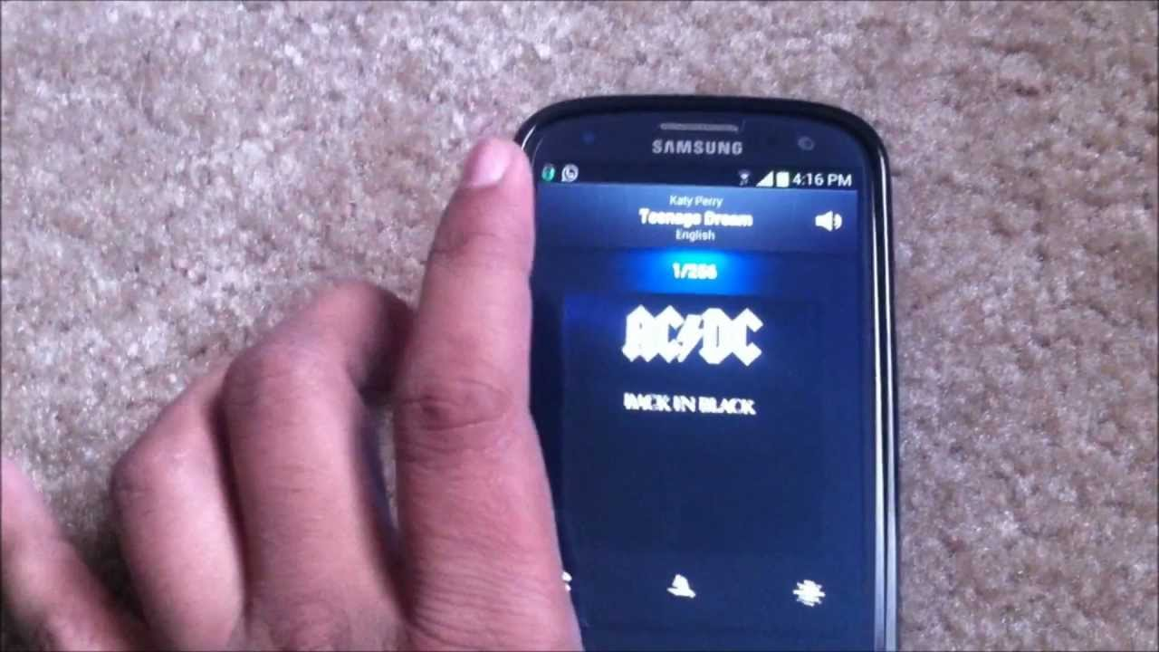 Descargar Samsung Galaxy S3 Music Player and Google Play Music app comparison/review para Celular  #Android
